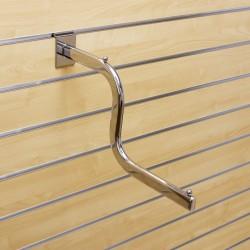"""Chromowane ramię typu """"S""""o długości 400mm"""