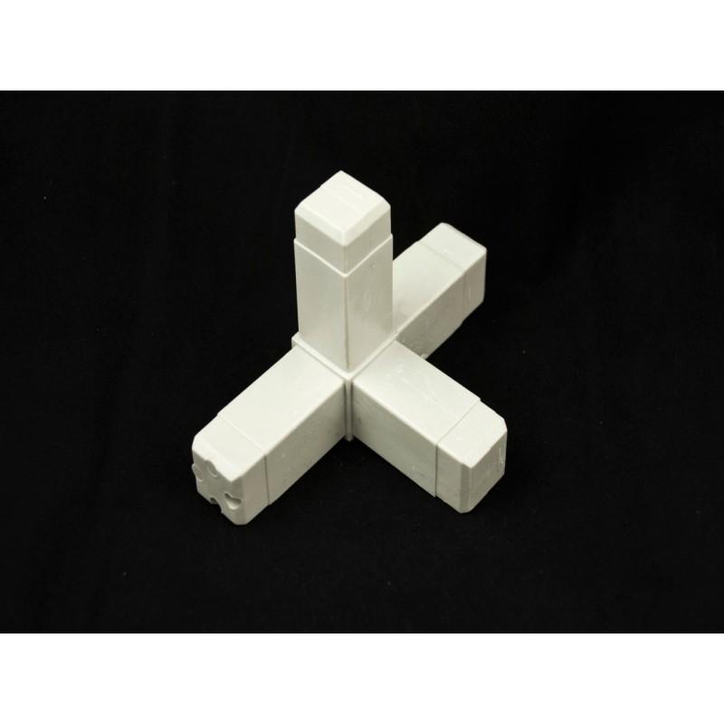 Złączka 4-ramienna kwadratowa