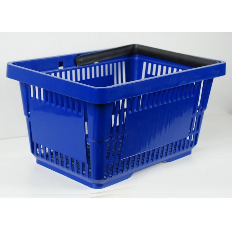 Plastikowy koszyk na zakupy - rózne kolory